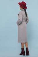 темно-серое шерстяное пальто. Пальто П-347-110. Цвет: 8-св.бежевый в интернет-магазине