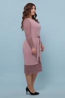 красное платье батал. платье Марика-Б д/р. Цвет: лиловый цена
