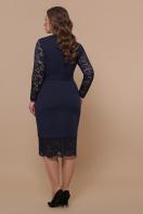 красное платье батал. платье Марика-Б д/р. Цвет: синий в интернет-магазине
