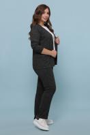 бордовый костюм для полных женщин. Костюм Трейси-Б. Цвет: черный купить