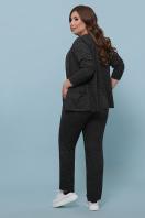 бордовый костюм для полных женщин. Костюм Трейси-Б. Цвет: черный в интернет-магазине