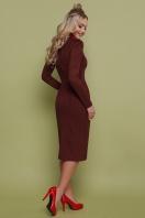 коричневое замшевое платье. платье Таяна д/р. Цвет: коричневый цена