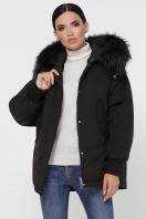 куртка цвета хаки с мехом. Куртка М-74. Цвет: 01-черный купить