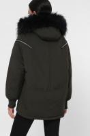 куртка цвета хаки с мехом. Куртка М-74. Цвет: 16-хаки цена