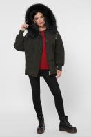 куртка цвета хаки с мехом. Куртка М-74. Цвет: 16-хаки в интернет-магазине