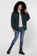 куртка цвета хаки с мехом. Куртка М-74. Цвет: 13-изумруд купить