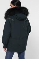 куртка цвета хаки с мехом. Куртка М-74. Цвет: 13-изумруд в интернет-магазине
