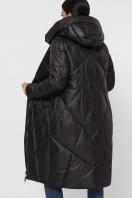 темно-зеленая стеганая куртка. Куртка 9120. Цвет: 01-черный в интернет-магазине