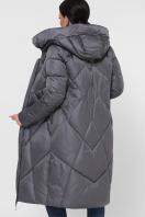 темно-зеленая стеганая куртка. Куртка 9120. Цвет: 11-серый в интернет-магазине
