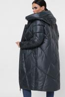 темно-зеленая стеганая куртка. Куртка 9120. Цвет: 03-т.зелёный в интернет-магазине