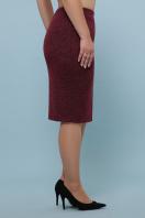 батальная синяя юбка. юбка мод. №20-1 Б. Цвет: бордо купить