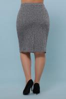 батальная синяя юбка. юбка мод. №20-1 Б. Цвет: серый цена