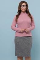 батальная синяя юбка. юбка мод. №20-1 Б. Цвет: серый в интернет-магазине