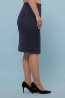 батальная синяя юбка. юбка мод. №20-1 Б. Цвет: синий цена