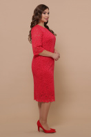 лиловое платье больших размеров. платье Сания-Б 3/4. Цвет: красный цена