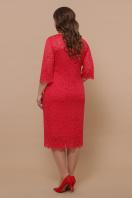лиловое платье больших размеров. платье Сания-Б 3/4. Цвет: красный в интернет-магазине