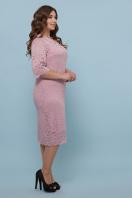 лиловое платье больших размеров. платье Сания-Б 3/4. Цвет: лиловый цена