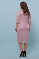лиловое платье больших размеров. платье Сания-Б 3/4. Цвет: лиловый в интернет-магазине