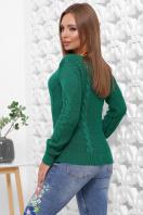 мятный женский свитер. Свитер 160. Цвет: изумрудный купить