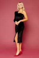 черное платье на одно плечо. платье Саманта д/р. Цвет: черный купить