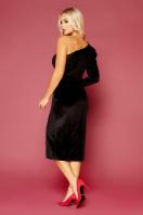 черное платье на одно плечо. платье Саманта д/р. Цвет: черный цена