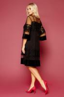 . платье Хелма 3/4. Цвет: черный цена