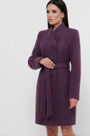 зимнее фиолетовое пальто. Пальто П-333-з. Цвет: 2106-фиолетовый купить