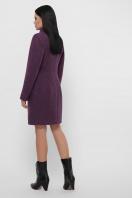 зимнее фиолетовое пальто. Пальто П-333-з. Цвет: 2106-фиолетовый в интернет-магазине