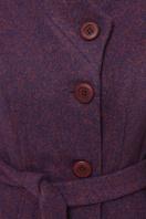зимнее фиолетовое пальто. Пальто П-333-з. Цвет: 2106-фиолетовый в Украине