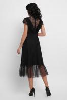 кружевное черное платье. платье Эрмина б/р. Цвет: черный в интернет-магазине