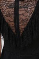 кружевное черное платье. платье Эрмина б/р. Цвет: черный в Украине