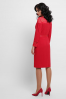 лиловое платье с кружевом. платье Леония д/р. Цвет: красный в интернет-магазине