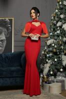 платье годе с бахромой. Платье Альфия б/р. Цвет: красный в Украине