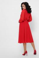 красное платье с юбкой полусолнце. платье Аля д/р. Цвет: красный в интернет-магазине