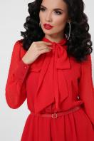 красное платье с юбкой полусолнце. платье Аля д/р. Цвет: красный в Украине