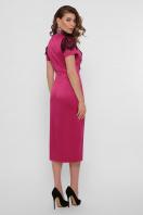 кружевное атласное платье. платье Дафния к/р. Цвет: фуксия в интернет-магазине