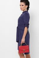 замшевое платье цвета пудры. платье Мерида д/р. Цвет: синий купить