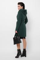 зимнее черное пальто. Пальто П-311 з. Цвет: 7214-зеленый в интернет-магазине