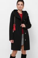 зимнее черное пальто. Пальто П-311 з. Цвет: черный купить