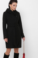 зимнее черное пальто. Пальто П-311 з. Цвет: черный цена
