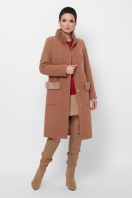. Пальто П-346-100 з. Цвет: 247- т.бежевый цена