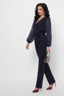 черный женский комбинезон. комбинезон Фабиан д/р. Цвет: синий в интернет-магазине