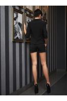 черные шорты на каждый день. шорты Хилтон. Цвет: черный купить
