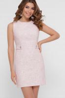 персиковое платье без рукавов. платье Элиана б/р. Цвет: персик купить