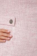 персиковое платье без рукавов. платье Элиана б/р. Цвет: персик недорого