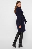 горчичное пальто на молнии. Пальто ПМ-29. Цвет: синий цена