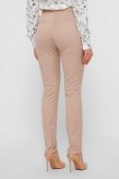 узкие бежевые брюки. брюки Астор. Цвет: бежевый цена