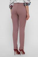 узкие бежевые брюки. брюки Астор. Цвет: лиловый в интернет-магазине