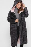 длинная зимняя куртка. Куртка 8230. Цвет: 37- т.графит в интернет-магазине