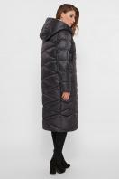 длинная зимняя куртка. Куртка 8230. Цвет: 37- т.графит в Украине